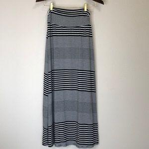 Merona   Stripe Maxie Skirt S
